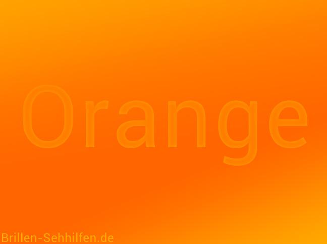 Orange Farbe Anregende Hitze